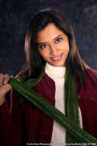 Aishwarya 2017 High School Senior Portrait - New Haven, Connecticut